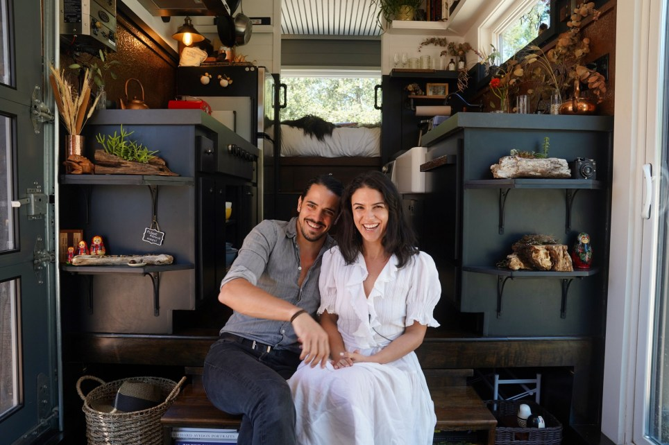 Spencer and Bela decided to move to their tiny home approximately four years ago