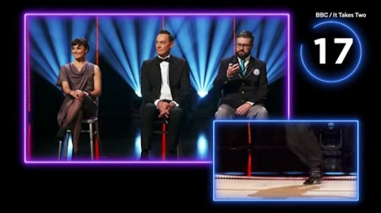 Strictly record breaking moment Picture: BBC/ SCD