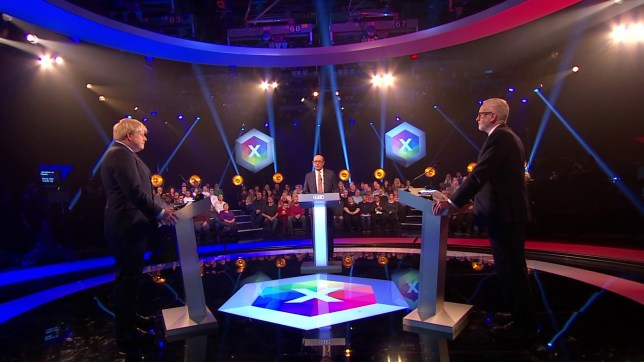 Boris Johnson and Jeremy Corbyn go head-to-head in final debate before General Election