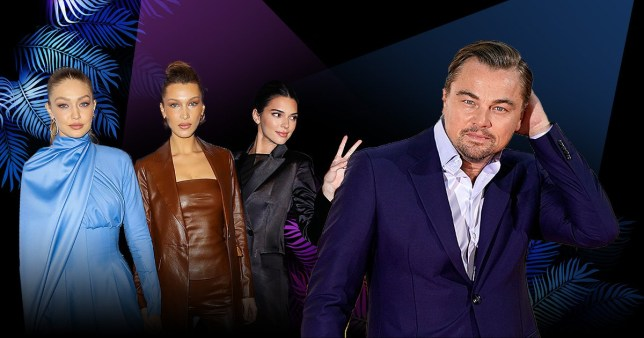 Leo is partying with Kendall, Gigi and Bella