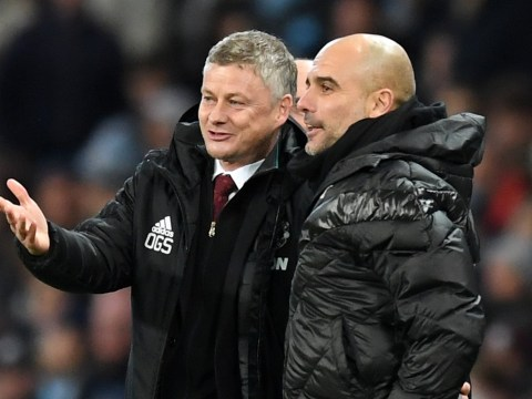 Pep Guardiola includes Manchester United on his list of five teams Man City can't compete with