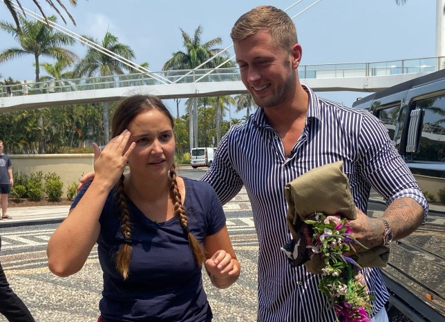 I'm A Celebrity's Jacqueline Jossa 'forgives' Dan Osborne but warns him 'one more strike' it's over