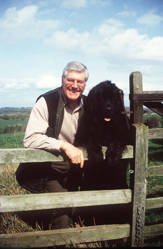 Mandatory Credit: Photo by Steve Back/Daily Mail/REX (871226a) Peter Purves The Former Blue Peter Presenter At His Home. Peter Purves The Former Blue Peter Presenter At His Home.