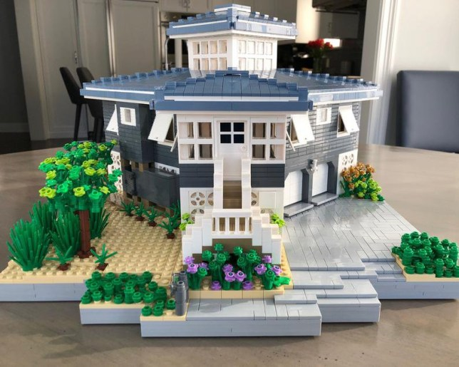 A lego replica of your house