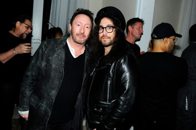 Sean Lennon, Julian Lennon