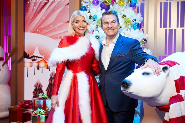 Holly Willoughby and Bradley Walsh in Take Off With Bradley and Holly