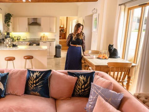What I Rent: Hannah, £1,350 a month for a two-bedroom barnhouse on a farm in Aylesbury, Buckinghamshire
