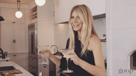 Gwyneth Paltrow gets into the Christmas spirit with double-fisting and vibrators (Picture: Goop)