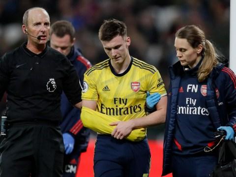 Arsenal issue injury updates on Kieran Tierney, Sokratis, Sead Kolasinac, Calum Chambers and Reiss Nelson