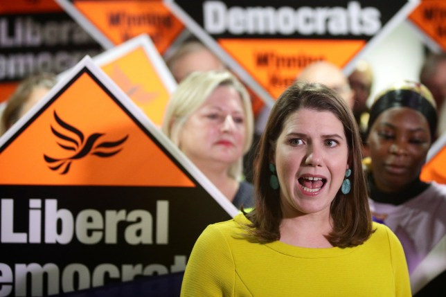 Liberal Democrat leader Jo Swinson speaks during a general election campaign event in Bath, Britain December 10, 2019. REUTERS/Lisi Niesner
