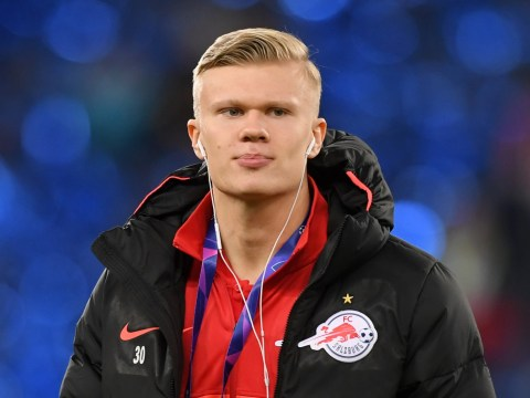 Manchester United target Erling Haaland travels for talks with Borussia Dortmund
