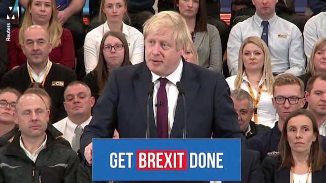 The Prime Minister also said members of Mr Corbyn's own team were saying he was blocking Brexit