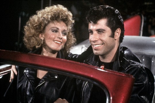 Olivia Newton-John, John Travolta Grease - 1978