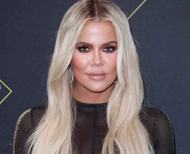 Mandatory Credit: Photo by Matt Baron/REX (10471216zr) Khloe Kardashian 45th Annual People's Choice Awards, Arrivals, Barker Hanger, Los Angeles, USA - 10 Nov 2019