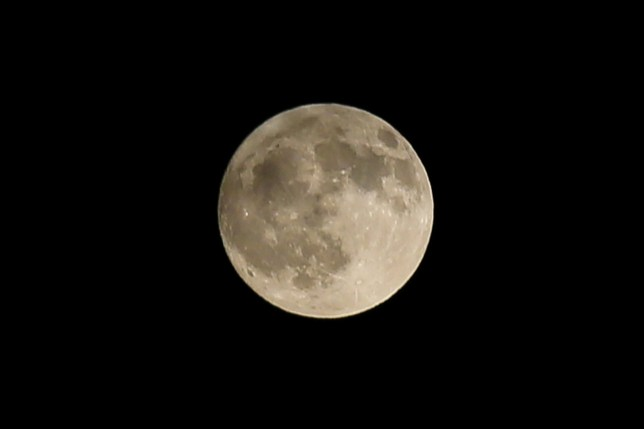 SIPA USA via PA Images Last full or cold moon of the decade it seen over north London, UK. (Photo by Dinendra Haria / SOPA Images/Sipa USA)