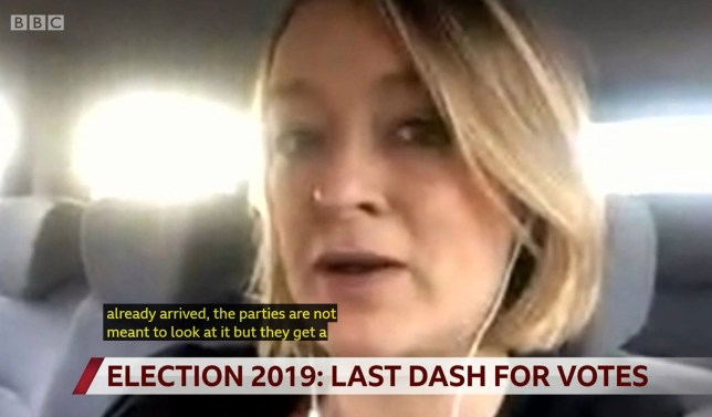Election watchdog issues warning after Laura Kuenssberg comments