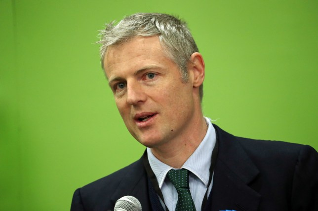 Conservative candidate Zac Goldsmith reacts at St Mary's University, in Strawberry Hill, Twickenham, after losing his Richmond Park seat in the 2019 General Election. PA Photo. Picture date: Friday December 13, 2019. See PA story POLITICS Election. Photo credit should read: Steve Parsons/PA Wire
