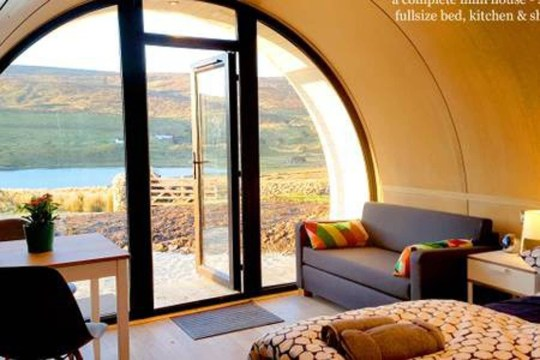 Stay in a hobbit hole in Ireland