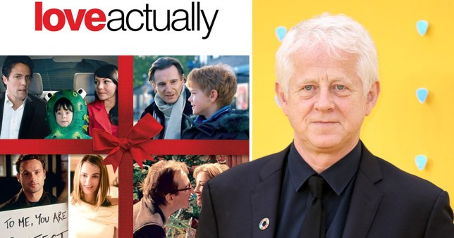 Love Actually's Richard Curtis reveals what he'd change about the legendary Christmas film