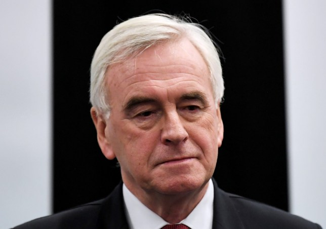 General Election 2019: John Mcdonnell to quit after Labour defeat