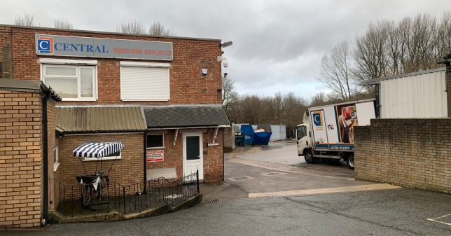 Managers at a Stoke-on-Trent catering supplier have told of the shocking moment three suspected illegal immigrants were found in one of their delivery trucks. Nidal Mansour and Theo Koulli were on shift at Central Frozen Food Supplies on Davenport Street, Longport, when they say two men and a heavily pregnant woman were discovered in the back of a refrigerated lorry. A staff member at neighboring Wayne Walker phoned police after hearing banging coming from inside the truck containing jars of mayonnaise and tubs of coleslaw. Nidal Mansour and Theo Koulli were on shift at Central Frozen Food Supplies on Davenport Street, Longport, when they say two men and a heavily pregnant woman were discovered in the back of one of their refrigerated lorrys.