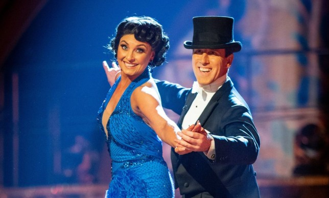 For use in UK, Ireland or Benelux countries only BBC handout photo of Emma Barton and Anton Du Beke during the live Strictly Come Dancing Final on Saturday. PA Photo. Picture date: Saturday December 14, 2019. See PA story SHOWBIZ Strictly. Photo credit should read: Guy Levy/BBC/PA Wire NOTE TO EDITORS: Not for use more than 21 days after issue. You may use this picture without charge only for the purpose of publicising or reporting on current BBC programming, personnel or other BBC output or activity within 21 days of issue. Any use after that time MUST be cleared through BBC Picture Publicity. Please credit the image to the BBC and any named photographer or independent programme maker, as described in the caption.