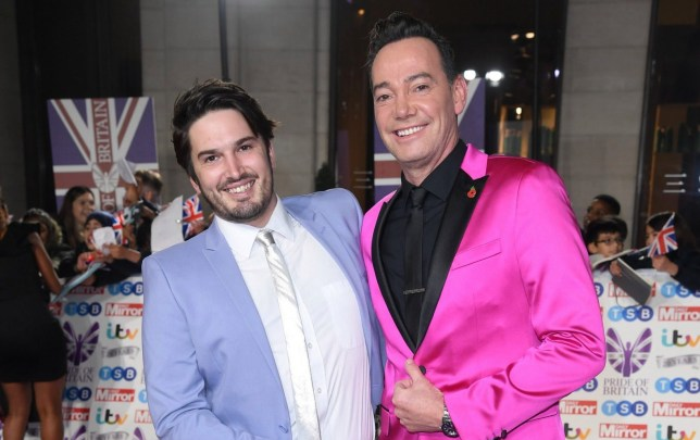 LONDON, ENGLAND - OCTOBER 28: Jonathan Myring and Craig Revel Horwood attend the Pride Of Britain Awards 2019 at The Grosvenor House Hotel on October 28, 2019 in London, England. (Photo by Karwai Tang/WireImage)