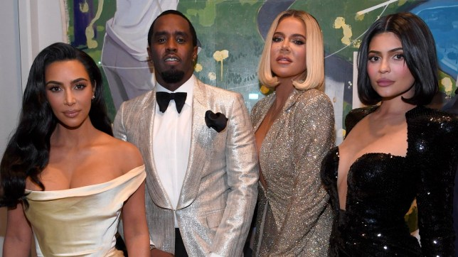 Kim Kardashian, Khloe Kardashian and Kylie Jenner shine at star-studded Sean Combs 50th birthday party