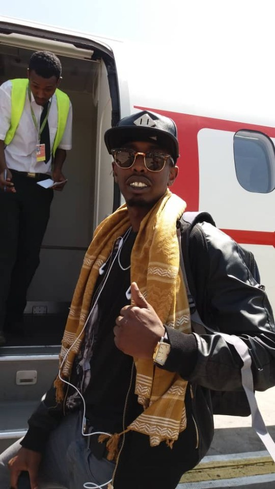 ***Embargoed until 12pm on 15 December 2019*** Fee ?100 for online and ?150 for print Ahmed Farah's flight back to Somalia brother of athletics legend Sir Mo Farah has ended up homeless and penniless after being deported to Somalia. The Sunday Mirror can reveal Ahmed Farah, 30, was sent to his birthplace by British authorities after he was freed from jail for a knife raid. He served four-and-a-half years and was on the Home Office?s radar for two years before being booted out.