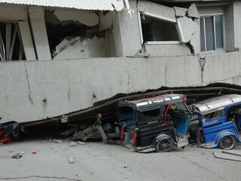 At least one child killed as the Philippines is hit by another earthquake