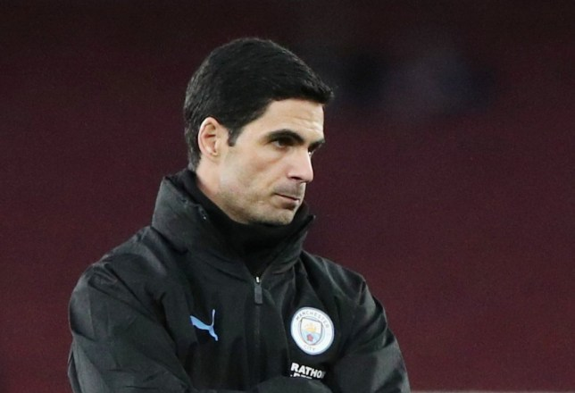 Arsenal chiefs hold talks at Mikel Arteta's house after Manchester City defeat