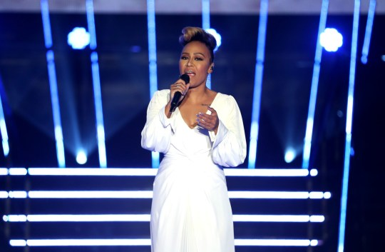 Emeli Sande performs during the BBC Sports Personality of the Year 2019 at The P&J Live, Aberdeen. PA Photo. Picture date: Sunday December 15, 2019. See PA story SPORT Personality. Photo credit should read: Jane Barlow/PA Wire.