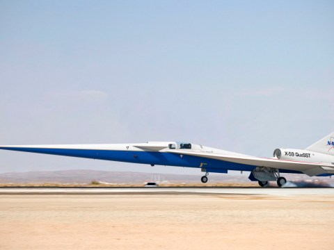 Nasa's supersonic plane goes as fast as Concorde but without the sonic boom