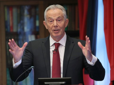 Tony Blair blames Corbyn for 'shameful Labour defeat'