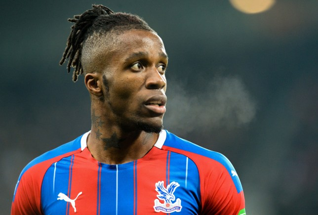 Wilfried Zaha is keen on a move to Chelsea