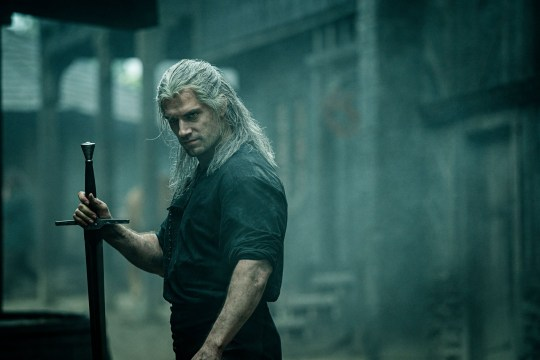 Editorial use only. No book cover usage. Mandatory Credit: Photo by Katalin Vermes/Netflix/Kobal/REX (10487108q) Henry Cavill as Geralt of Rivia 'The Witcher' TV Show Season 1 - 2019 Geralt of Rivia, a solitary monster hunter, struggles to find his place in a world where people often prove more wicked than beasts.