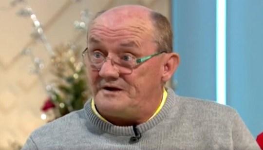 Brendan O'Carroll on Lorraine 23.12.19 (Picture: ITV)