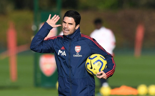 Mikel Arteta will take charge of Arsenal for the first time at Bournemouth on Boxing Day