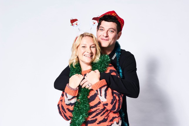 Matthew Horne and Joanna Page in Gavin and Stacey Christmas special