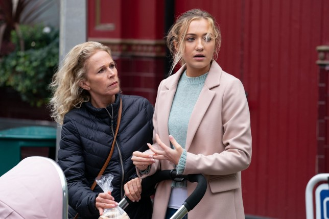 louise fowler and lisa mitchell in eastenders