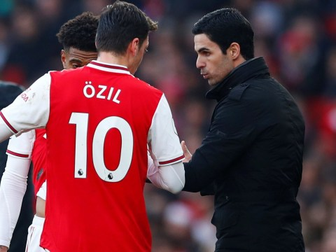 Mikel Arteta sends warning to Arsenal star Mesut Ozil ahead of Manchester United clash