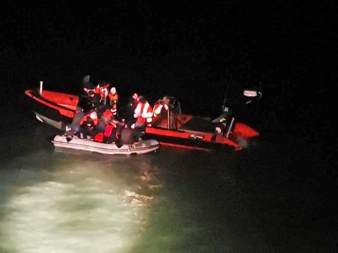 Border Force intercept boat carrying 11 migrants in English Channel