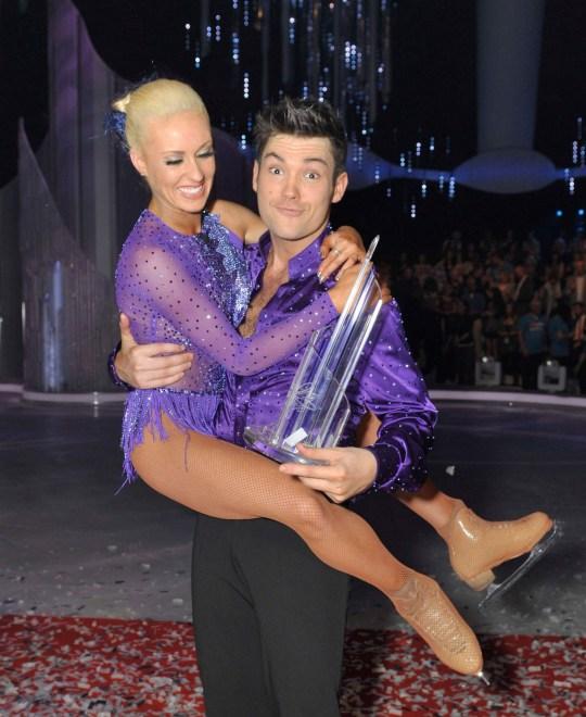 Sam Attwater with Dancing partner Brianne Delcourt
