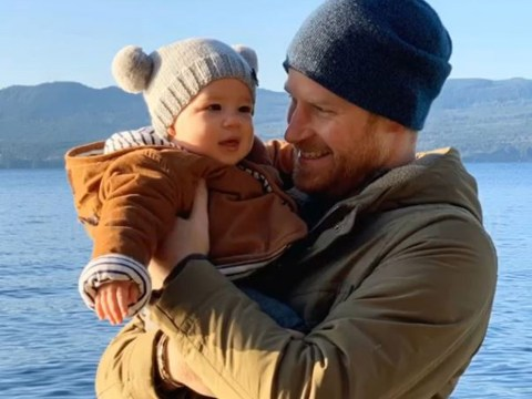 Harry and Meghan share unseen picture of Archie from Canada trip
