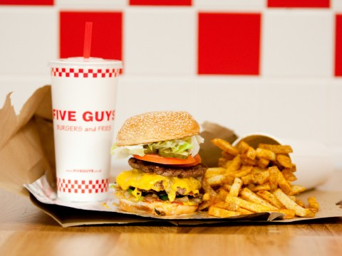 Fancy a free meal? Five Guys is giving away burgers and chips