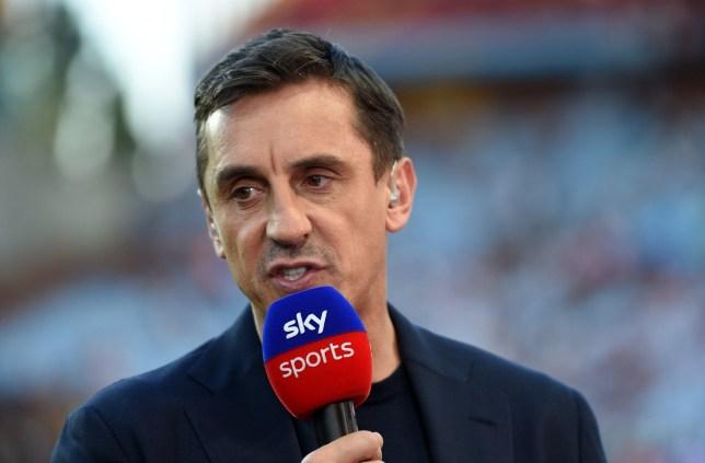 Sky Sports pundit Gary Neville