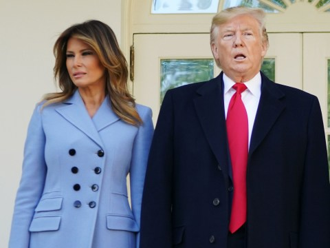 Melania Trump 'sleeps on a separate floor of the White House to husband Donald'