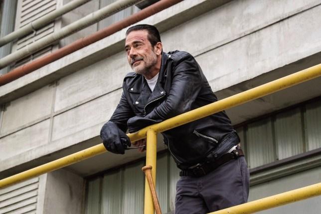 The Walking Dead Jeffrey Dean Morgan as Negan