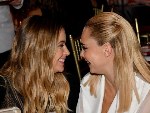 Ashley Benson confirms she and Cara Delevingne are still together after hacker claimed they'd split