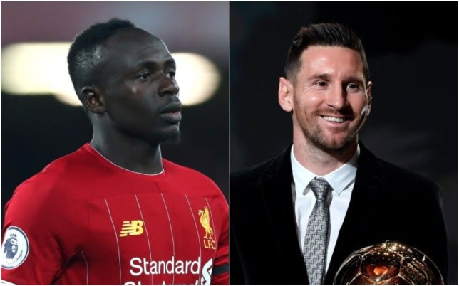 Lionel Messi was full of praise for Liverpool forward Sadio Mane after winning the Ballon d'Or this week